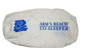 Arms Reach Co-Sleeper Replacement Storage Bags Arms Reach Beige Clean Used