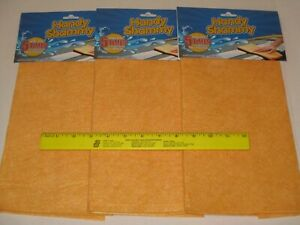 Handy Shammy BUY 3 - Great For Drying Cars, Cleaning Spills In Boat, RV, Camper