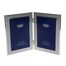 Double Silver Chrome Photo Frame 4x6 inches NEW 5014