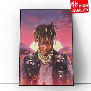 Juice Wrld Legends Never Die Album Music Artist Art Rapper Poster A5 A4 A3 A2 A1