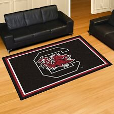South Carolina Gamecocks 5' X 8' Decorative Ultra Plush Carpet Area Rug
