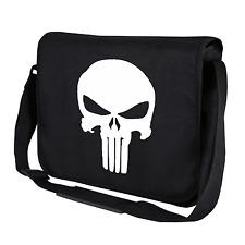 The Punisher Totenkopf Skull Comic Hero Held Motiv Umhängetasche Messenger Bag