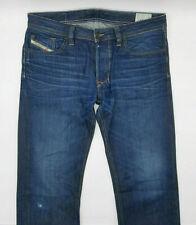 Diesel Larkee Wash 0073N W34 L34 blau Designer Denim Herren Men Jeans Retro Hose