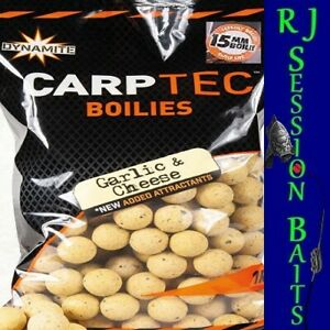 Dynamite Baits Garlic & Cheese 15mm Session Pack of 25 Boilies
