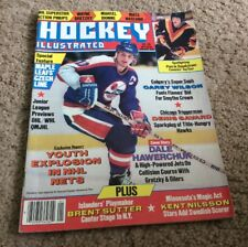 1986 Hockey Illustrated January Issue Dale Hawerchuk Cover