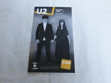 U2 - SONGS OF EXPERIENCE !! MEGA RARE!!!!!PLV / FRENCH DISPLAY 14 X 25 CM