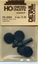 "Detail Associates HO FA 2004 Fan 48"" Flat Top Cooling - NOS"