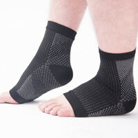 Unisex Ankle Brace Sock Foot Doc Plantar Arch Support Compression Socks Charm