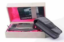 Contax T2 champagner mit Box und Tasche leather bag 019488