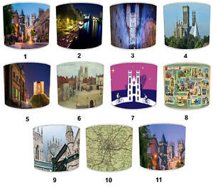 City of York Designs Lampshades To Match Bedding Duvets Curtains Cushion Covers