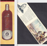 Duffy Malt Whiskey Bottle Health Advertising Booklet Indian Patriotic Old Folks