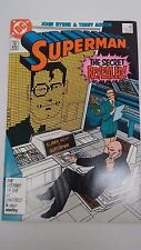 SUPERMAN #2 - February 1987 - JOHN BYRNE, TERRY AUSTIN DC Comics