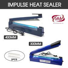 Heat Sealer Sealing SAA Machine Impulse Electric Plastic Poly Bag 300mm/400mm