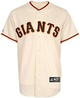San Francisco Giants MLB Mens Majestic Replica Jersey Ivory Big & Tall Sizes