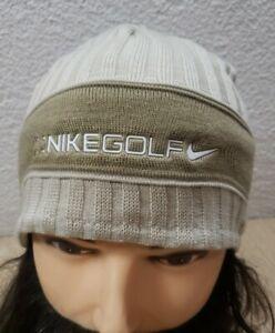 Nike Golf Reversible Knit Fleece Beanie Winter Hat One Size Fits All