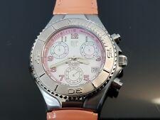 TechnoMarine Ladies 200 Metre Stainless Steel Chronograph Sports Watch on Strap.