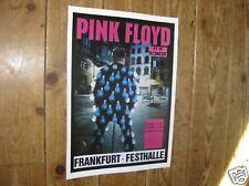 Pink Floyd Repro Concert Poster FRANKFURT
