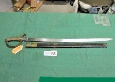 Spanish Artillery Short Sword & Scabbard Circa 1850