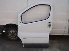 Vauxhall Vivaro N/S passengers door shell in white 2005 model (bare door)