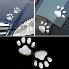 Cat Pet Dog Paw Foot Print Decal Window Bumper Body Sticker