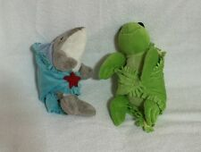 Fiesta Blanket Babies Sea Turtle And Dolphin In Baby Blankets Stuffed Plush Toys