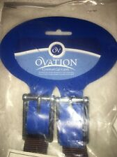 "Ovation Comfort Gel Chafeless Girth Size 50"" Brown Horse Equestrian"