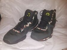 Nike Air Penny V 5 GREEN CAMO Size 12 volt foamposite USA Soldier X army retro v