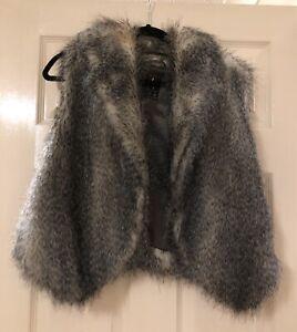 Primark Faux Fur Gilet / Body warmer  Size 12