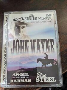 John Wayne - Angel and The Badman / Blue Steel - DVD By John Wayne - VERY GOOD