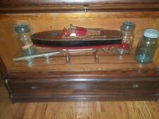 "1920's/30's Wooden Boat Jacrim Mfg. Motor Works, 22"", Flying Yankee Model 68"