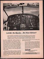 1962 PIPER Aircraft AltiMatic Autopilot AD Cockpit instrucment panel photo