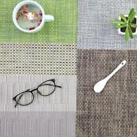 Convenient Cookware Dinner Mats Table Mat PVC Mat Coasters  Kitchen Accessories