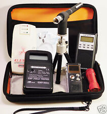 Ghost Hun Kit - Spirit Box - Laser Pen - 2 EMF Meters - Recorder - Case & More