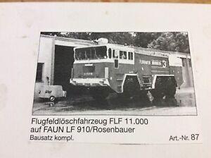 Gollwitzer FLF 11.000 1/87 Feuerwehr