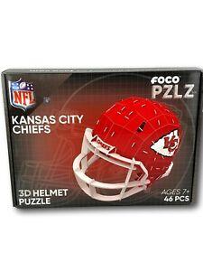 Kansas City Chiefs 3D Puzzle FOCO PZLZ KC Chiefs Helmet NFL NEW