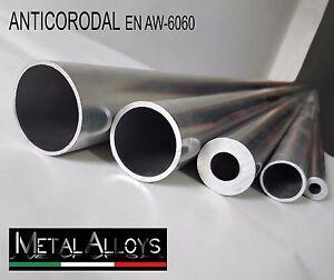 Tubo Tondo Alluminio da Ø 55 60 65 70 75  mm DIVERSE LUNGHEZZE E SP ANTICORODAL