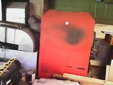ENERGY TECH WOOD/COAL BURNING FORCED AIR FURNACE W/ HOT WATER HEAT EXCHANGER