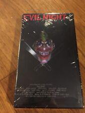 EVIL NIGHT -  VHS Horror Cemetery Cinema SOV Slasher (1992) Todd Cook NEW OOP