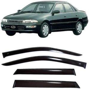 For Toyota Carina Sd 1992-1996 Side Window Visors Sun Rain Guard Vent Deflectors
