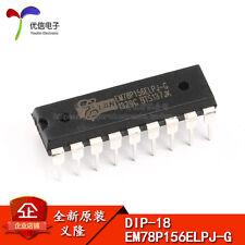 5PCS X EM78P156ELPJ-G MCU DIP-18