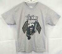 NWT Marvel Comics Spiderman Venom Gray and Black Graphic T Shirt Sz L