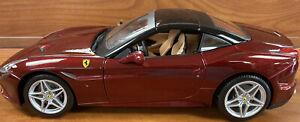 bburago 1:18 Ferrari California T, Burgundy 18-16902