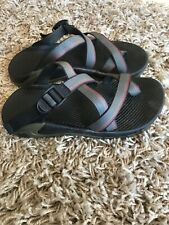 Mens Chaco Sandals Size 9 Gray Red Olive Green Black