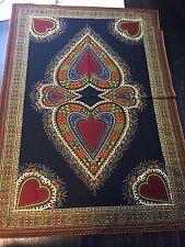 Black African Print Cloth Dutch Veritable Java Hollandais Kanga Cloth