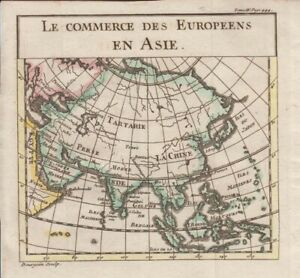 1739 Pluche Map of Asia