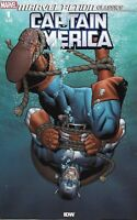 Captain America Comic 1 Marvel Action Classics Cover A First Print 2019