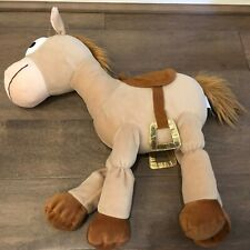 "Disney Toy Story 3 Bullseye Large 20"" Soft Woody Horse Disney Pixar"