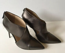 Zara Womens Shoes Pumps Leather High Heels Point-Toe Black Solid EU 41 US 9.5""