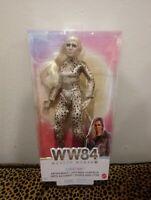 "WW84 BattleReady Cheetah WONDER WOMAN 1984 12"" Barbie Doll Figure DC MATTEL NEW"