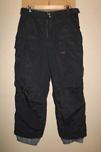 "BURTON Ronin Mens medium M 32-34""W 29""L Lined Nylon Snow/Snowboard Pants"
